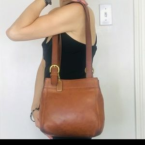 Coach Leather Soho Buckle Bag